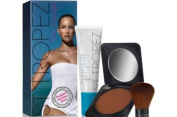 St Tropez Radiant Holiday Glow Inc Bronzing Lotion Face 50ml and Powder Bronzer 12g and Powder Brush