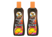 Australian Gold Dark Tanning Accelerator lotion 250ml X 2 BOTTLES