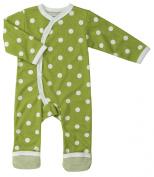 Organics For Kids Spotty Kimono Green 6-12Months