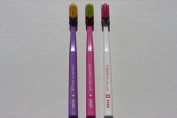 Ultra soft toothbrush, 3 brushes, Curaprox Ultra soft 5460. Better cleaning, softer feeling, in beautiful colours.