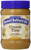 Peanut Butter & Co., Crunch Time, Crunchy Peanut Butter, 1 lb