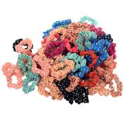 10pcs Cute Sweet Girl Elastic Hair Band Ponytail Holder Accessories