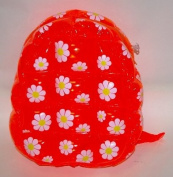 PVC Inflatable Back Pack Bubble Bag Daisy Bag with Flower Decorations 96