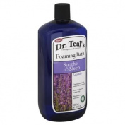 Dr. Teal's Therapeutic Solutions 1010ml Soothe & Sleep Foaming Bath In Lavender