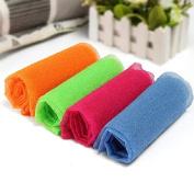 Exfoliating Nylon Bath Wash Cloth Towel