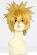 Sunny-business Anime Short Bleach Golden Naruto of Cosplay Wig