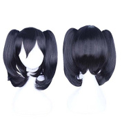 Sunny-business Anime Black Love Live Vector Ponytail of Cosplay Wig