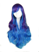 Sunny-business New Long Curly Lolita Wave Dance of Cosplay Wig