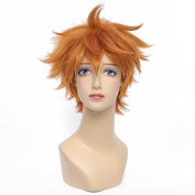 Playcosland Women Costume Cosplay Party Short Wigs Hinata Syouyou