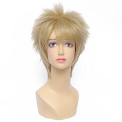 Playcosland Women Costume Cosplay Party Short Wigs Tsukishima Kei