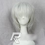 C.J. SHOP Tokyo Ghoul Kaneki Ken Soul Gintoki Sakata Gintama short cosplay Straight Silver Grey wig with free cap