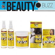 Organic Root Stimulator Monoi Oil with Tahitian Coconut Anti-Breakage 5pcs super set