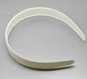 "12 Pieces New White Plastic Hairbands Wide Simple Style Headband Hair Bands Holder Hoop 38cm(15"") Long"