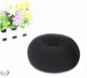 A.H®1PC Hair Styling Tool Hair Bun Ring Donut Extra- Large 10cm Former Doughnut Shaper Ring Styling Roll Updo