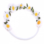 MERSUII™Fashion Women Girls Garland Flower Daisy Headband Hairband Hair Accessory
