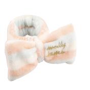 Cocokk Lovely Fresh Big Bow Headband Makeup Cosmetic Shower Elastic Hair Band