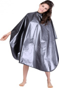 XMW Professional Multipurpose Hair Cutting Styling Polyester Cape Grey