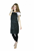 XMW Printing adjustable Water Repellent Stylist Apron with Pocket Black01
