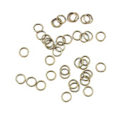 Qty:20950 Jewellery Making Jump Rings Findings Supplies Wholesale Ancient Fashion Bulk Bronze Retro Supply Z723287 Jump Ring