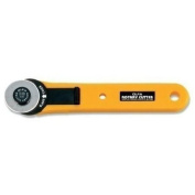Olfa 28mm Rotary Cutter Straight Handle