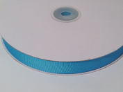1.6cm Polyester Grosgrain Ribbon - Turquoise - 50 Yards