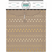 Misc Me Envelopes-Gold