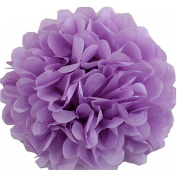 Lightingsky 10pcs DIY Decorative Tissue Paper Pom-poms Flowers Ball Perfect for Party Wedding Home Outdoor Decoration