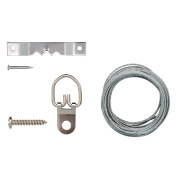 ARROW 160384 Wire or Saw Tooth Picture Hanging Kit