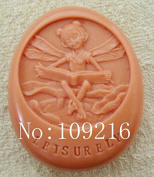 Creativemoldstore 1pcs Reading Girl (ZX806) Craft Art Silicone Soap Mould Craft Moulds DIY Handmade Soap Mould