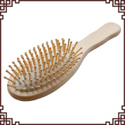 Calcifer@High Quality Exquisite Wood Comb Massage Health Care Carving Comb Crafts#1009