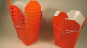 Orange Chinese Take-out (Favour) Boxes - 50 Count