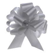 10cm Pull Bows (Silver)