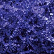 Royal Blue Crinkle Cut Paper - 0.2kg Royal Blue Gift Basket Filling Shredded Paper