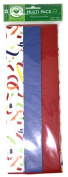 Jillson Roberts Multipack Flat Tissue 9 Sheets - Party Celebration