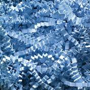 0.9kg Crinkle Cut Paper Shred - Light Blue
