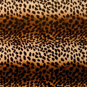 Premium Birthday or All Occasion Gift Wrap Heavy Weight Leopard Animal Cat Print Gloss Finish Wrapping Paper for Women Girls 1 Design of 1.5m X 80cm Roll
