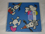 Vintage Hallmark Peanuts Snoopy Pkg Gift Wrap - Any Occasion