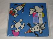 Vintage Hallmark Peanuts Snoopy Pkg Gift Wrap - Any Occasion