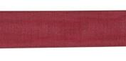 Burgundy 6.4cm X 10yds Fancy Wired Ribbon Gift Wrap