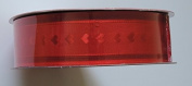 Red Heart Design Continuous 46m X 3.8cm . Wide Wire-edged Ribbon