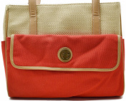 Giani Bernini Handbag, Straw Mother's Day Tote Red