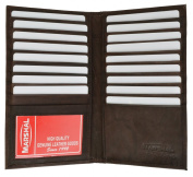 Marshal Wallet Womens Leather Long Credit Card Organisational Wallet