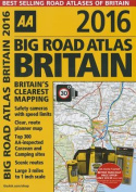 AA Big Road Atlas Britain 2016