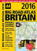 AA Big Road Atlas Britain 2016