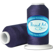 Polyester Sewing Thread - 600m - Colour 234 - NAVY - 80 Colours Available - Threadart