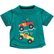 Monster Trucks Boys Slub Fabric Short Sleeved T-Shirt
