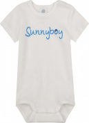 Sanetta - Infant boys short sleeve, white