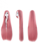 100cm Anime Costume Long Straight Cosplay Wig Party Wig