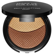 MAKE UP FOR EVER Pro Sculpting Duo colour 2 Golden - for medium deep to deep skin