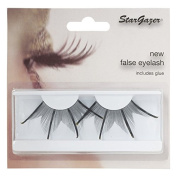 Halloween Stargazer Reusable False Eyelashes - Extra Long Black #74